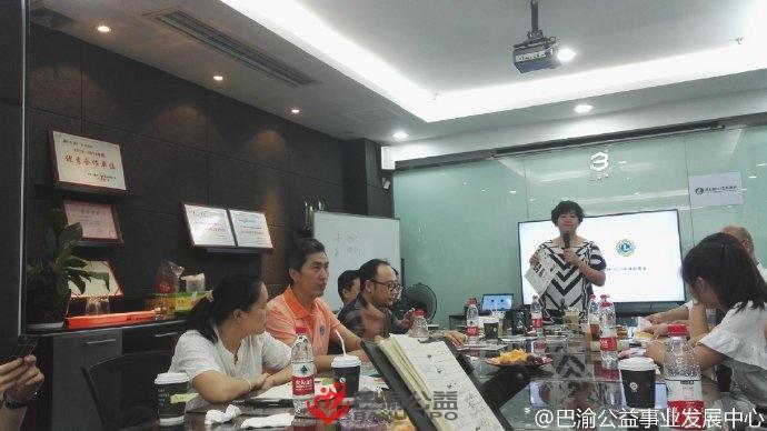 阿拉善 SEE 赴重庆与重庆环保 NGO 伙伴举行见面会