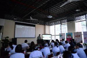 国贸中心举行消防安全培训讲座