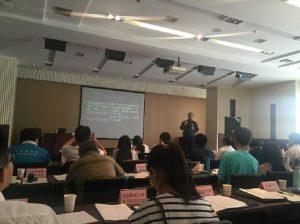 郑建参加 2016 全国环保社会组织培训
