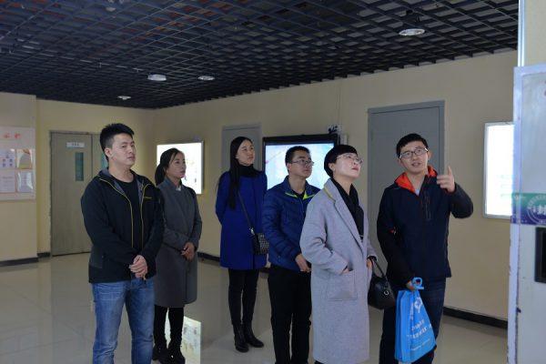 共青团固原市委喜书记一行到国贸中心调研群团服务工作