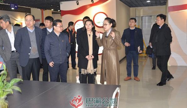 共青团上海市委一行到国贸中心群团服务站考察共青团工作