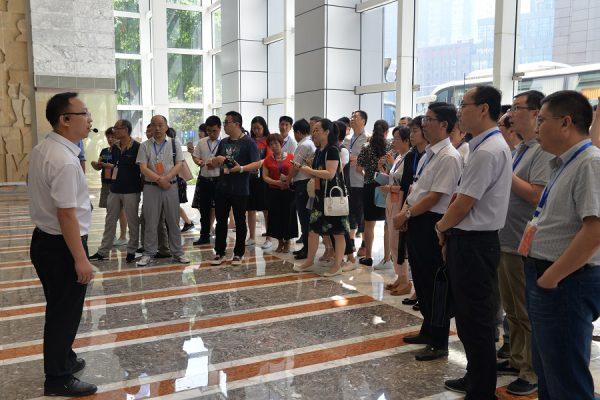 铜川市党建示范培训班学员到国贸中心调研
