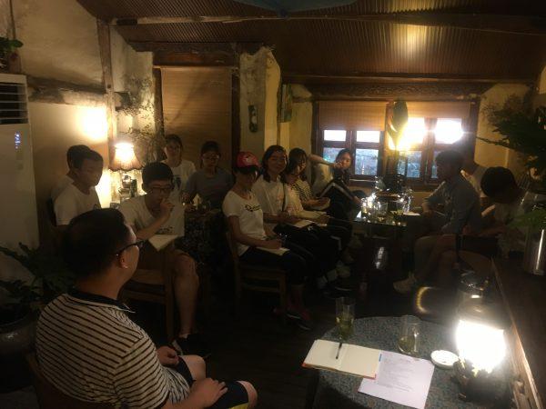 蒙延儒、郑建参加重庆大学生绿色营分享活动