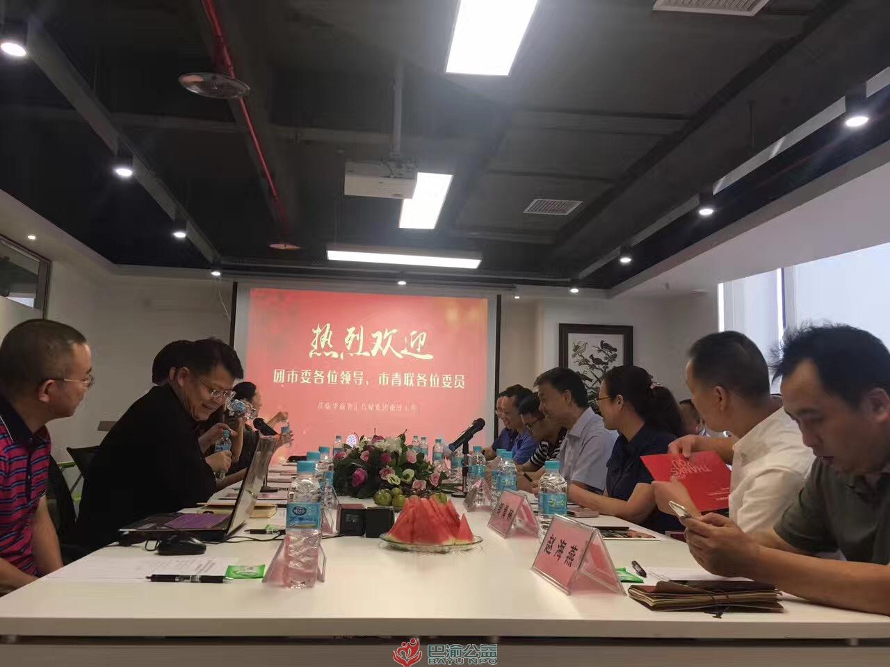 郑建参加市青联界别活动走进华商智汇传媒