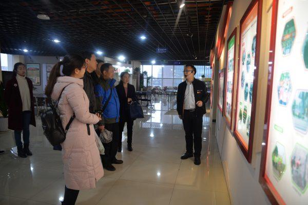 柳州鱼峰区委一行调研参观国贸中心