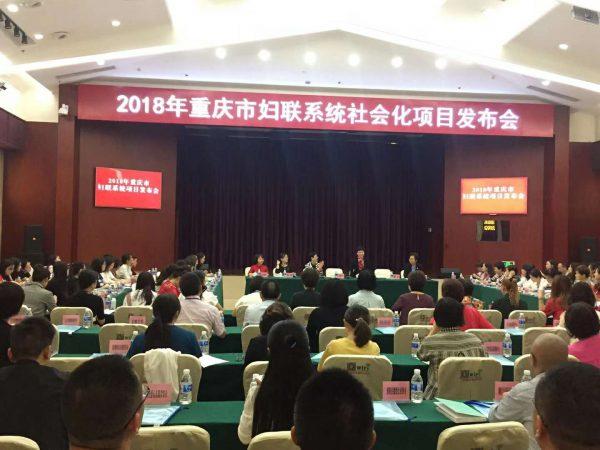 巴渝公益参加重庆市妇联项目发布会
