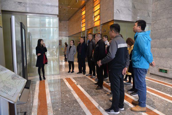 伊金霍洛旗委组织部赴国贸中心调研楼宇党建工作