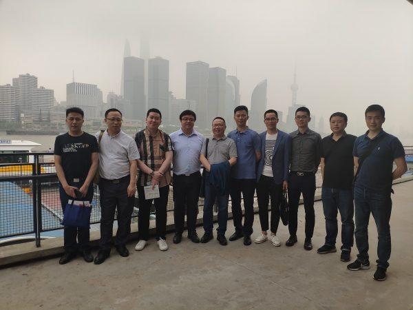 郑建赴上海杭州考察楼宇党建工作