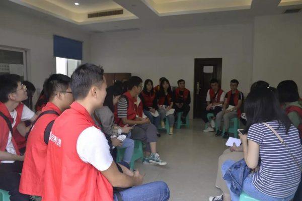 环保设施向公众开放|志愿者走进彩云湖污水处理厂参观学习