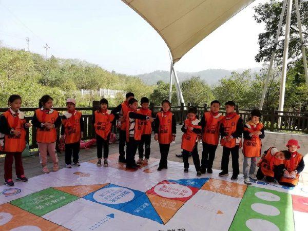 绿色行动——中华路小学(和平路校区)三年级学生走进三峰环境教育营地