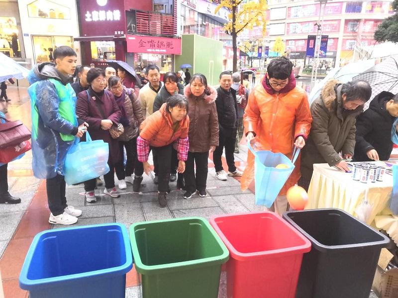 【华龙网】沙区开展生活垃圾分类宣传月活动 10 个街道推行分类示范