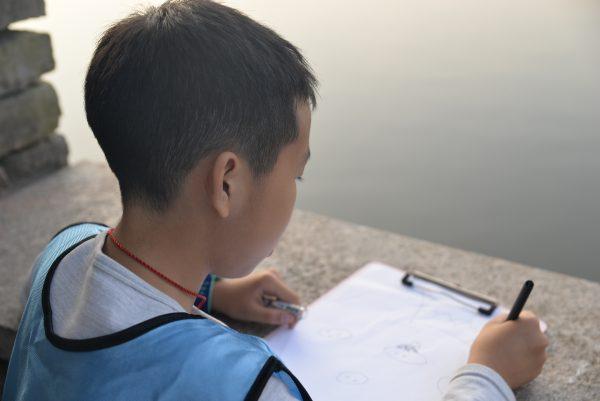 巴渝公益走进陈庹路垃圾中转站和彩云湖湿地公园开展研学实践活动